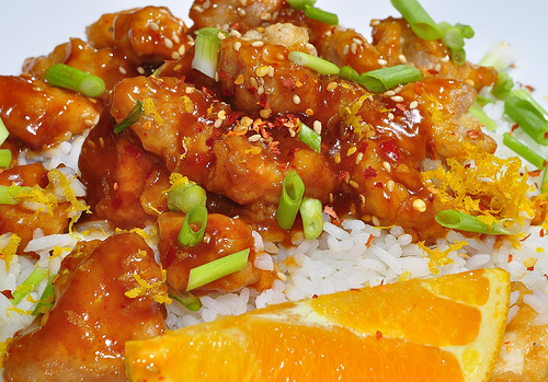 Asian Orange Chicken Recipe 1