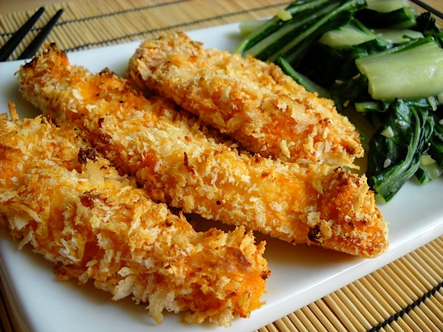 Breaded Chicken Fingers Recipe 1