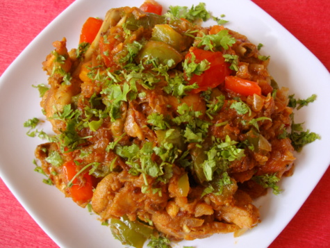 Capsicum Chicken recipe