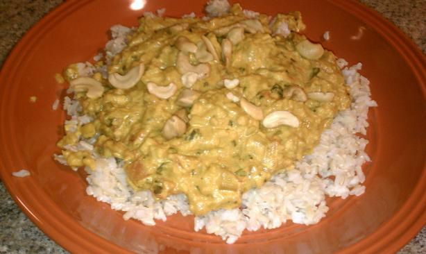 James's Chicken Curry With Cashews Recipe — Dishmaps