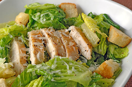 Chicken Caesar Salad Recipe 1