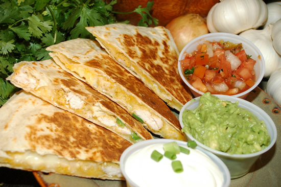 Chicken Cheese Quesadillas Recipe