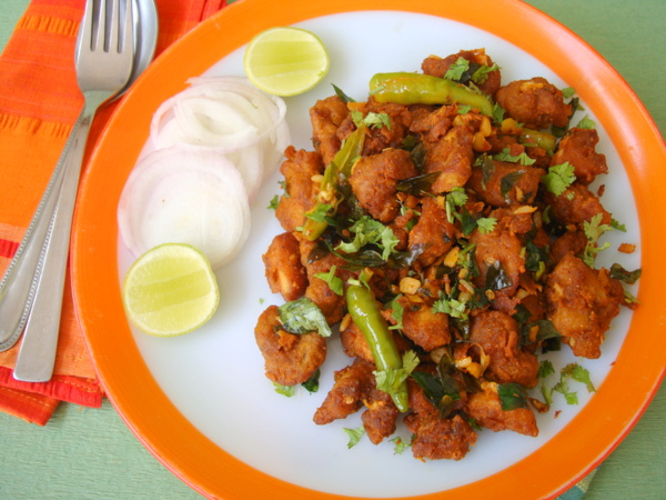 Chicken Pakora Andhra Style Recipe