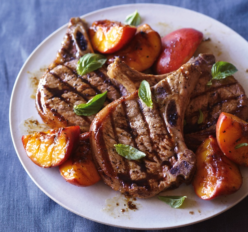 Grilled Pork Chops Recipe 1