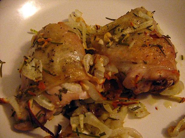baked chicken and onions recipe 1