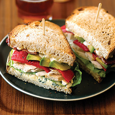 chicken cheese sandwich recipe 1