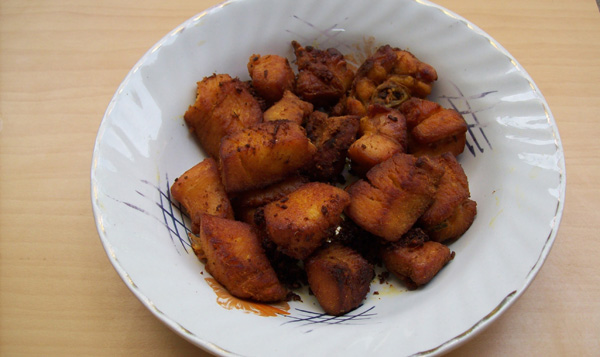 chicken dry fry recipe