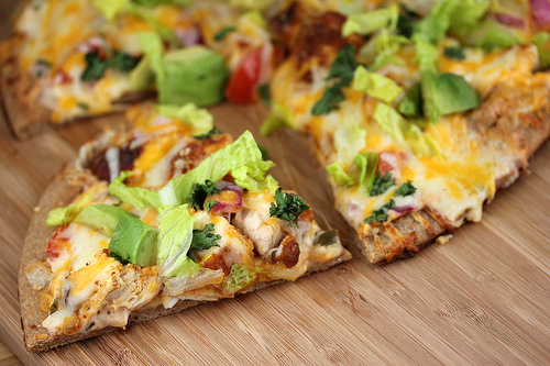 chicken salsa pizza recipe