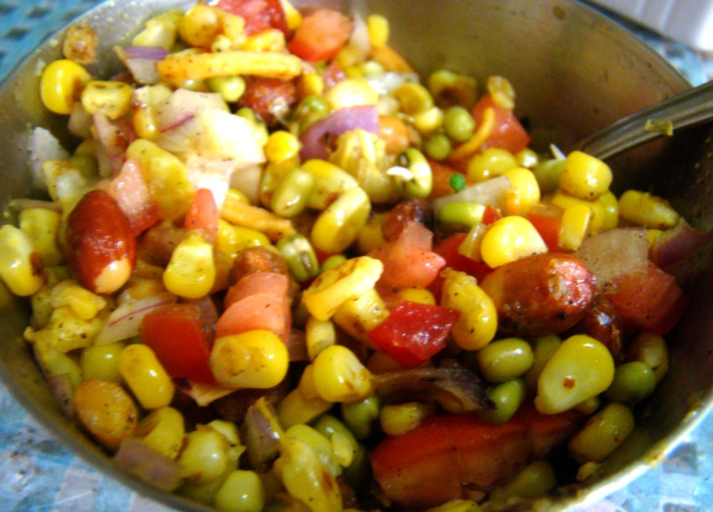 corn chaat recipe 1