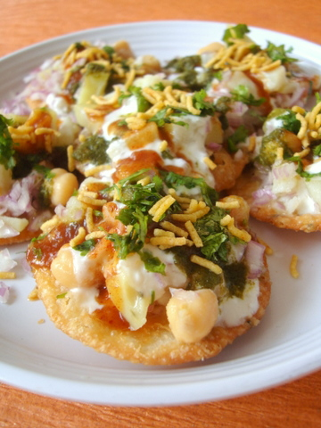 papri chaat recipe 1