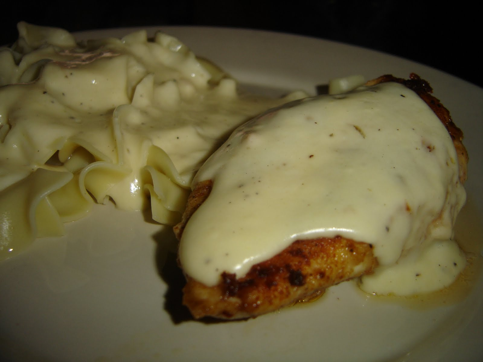 Baked Chicken With Sour Cream Recipe