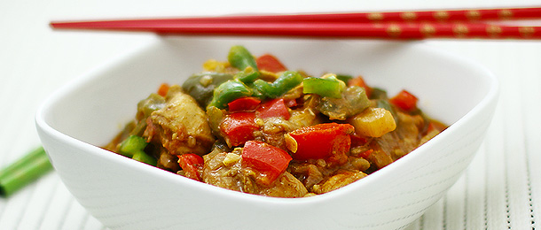 Capsicum Chicken recipe 1