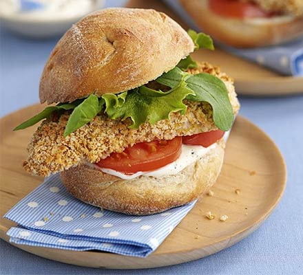 Chicken Burger recipe 1