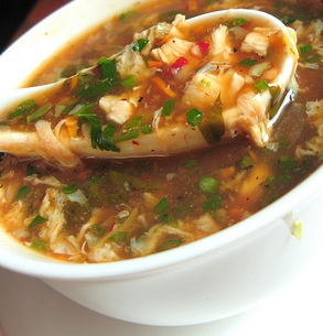 Chicken Manchow Soup Recipe 1