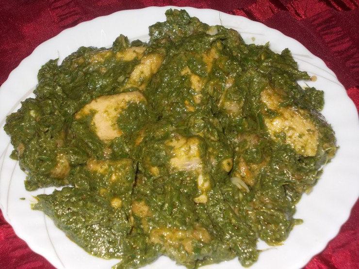 Chicken Palak Recipe 1