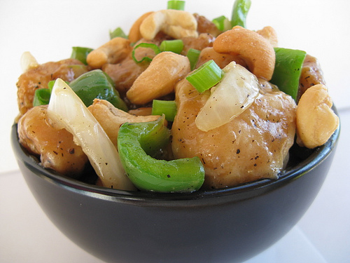 almond cashew chicken recipe 1