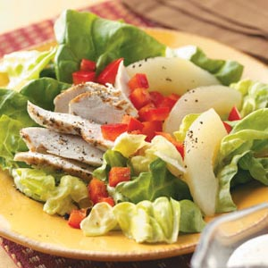 chicken and pear salad recipe 1