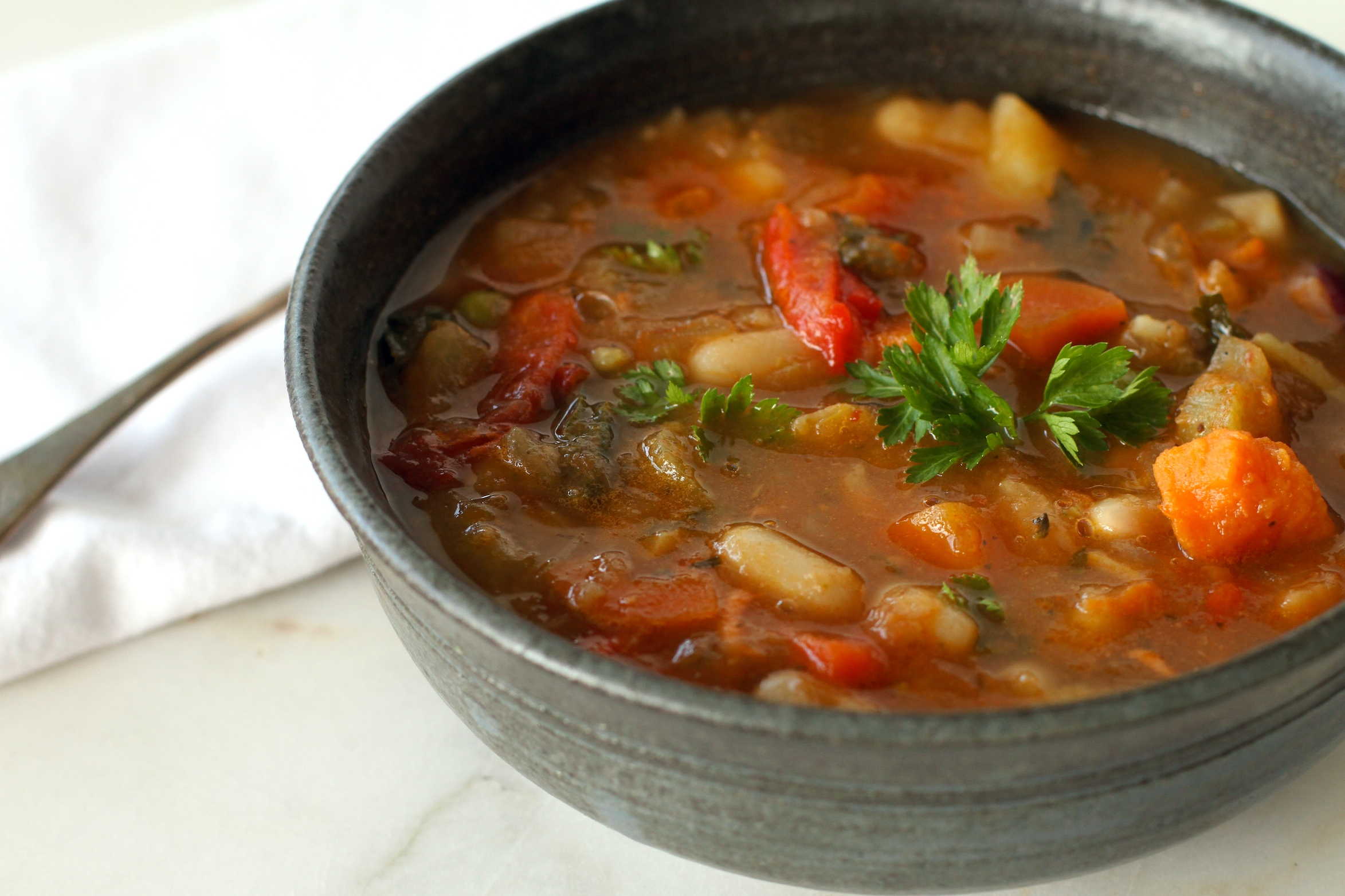 vegetable soup 1